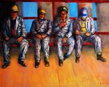 Oil on Canvas 80x100 cm