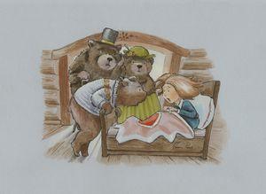 Goldilocks Wakes Up - InkPaint