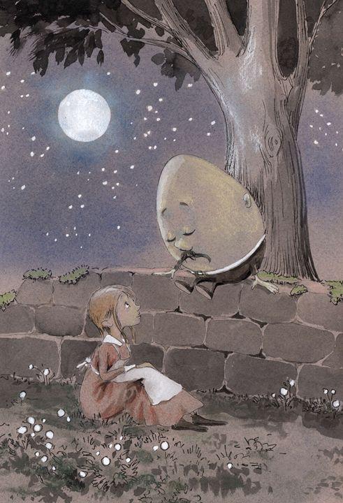 Humpty Dumpty - InkPaint