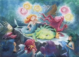 The Little Mermaid Show - InkPaint