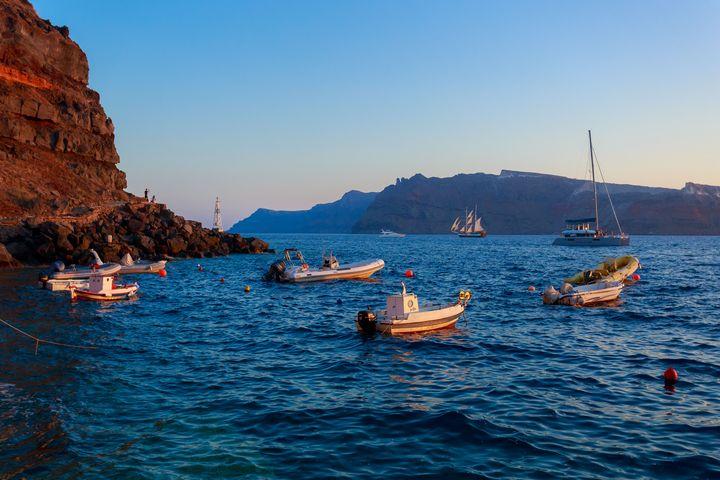 Amoudi Bay, Santorini. - Miguel Martinez