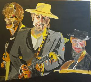Bob Dylan and a Band