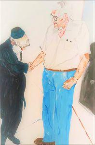 Rabbi Shakh and Professor Harry Bank