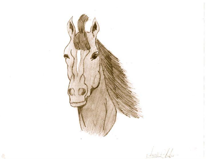 Horse Head - Matt's Art