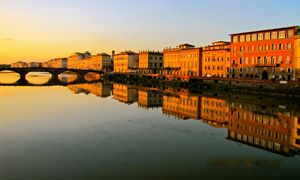Arno - Florence by Sunset