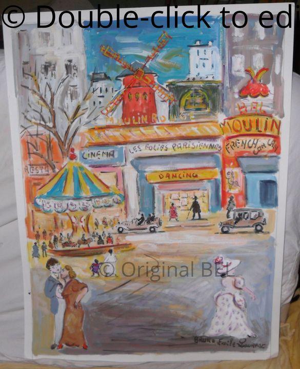 Moulin Rouge et Manège Paris - The Soul of Paris Montmartre