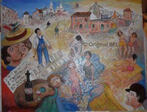 Boheme Montmartre painters