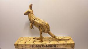 Match stick kangaroo