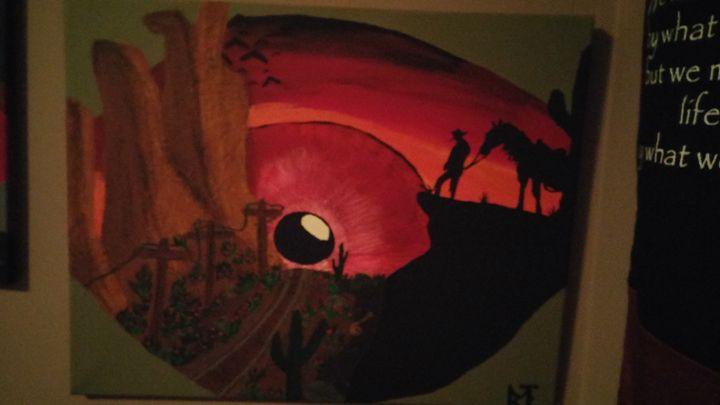 Cowboy - Michael B Larabie