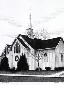 Gothic Church - Ken Szpindor Creative, LLC