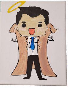 Cartoon Castiel