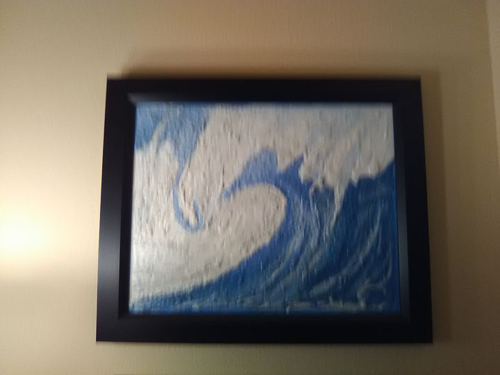 Breaking Wave - Original Art Works