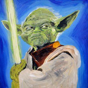 Quirky Yoda