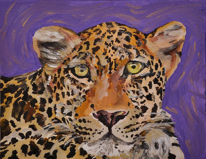 Quirky leopard - Lucy Quirk
