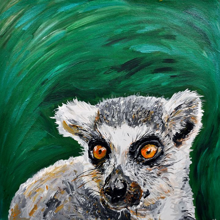 Quirky Lemur - Lucy Quirk