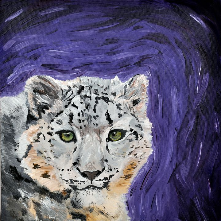 Quirky Snow Leopard - Lucy Quirk