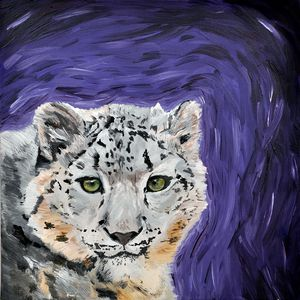 Quirky Snow Leopard