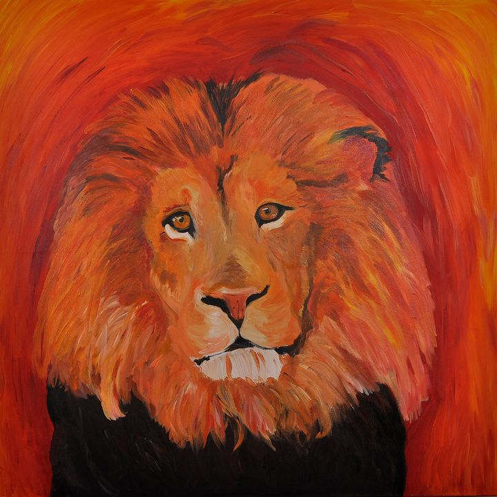Quirky Lion - Lucy Quirk
