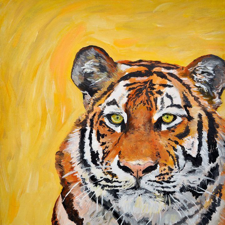 Quirky Tiger - Lucy Quirk