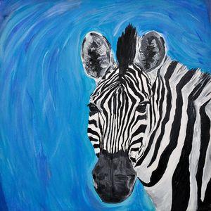 Quirky Zebra