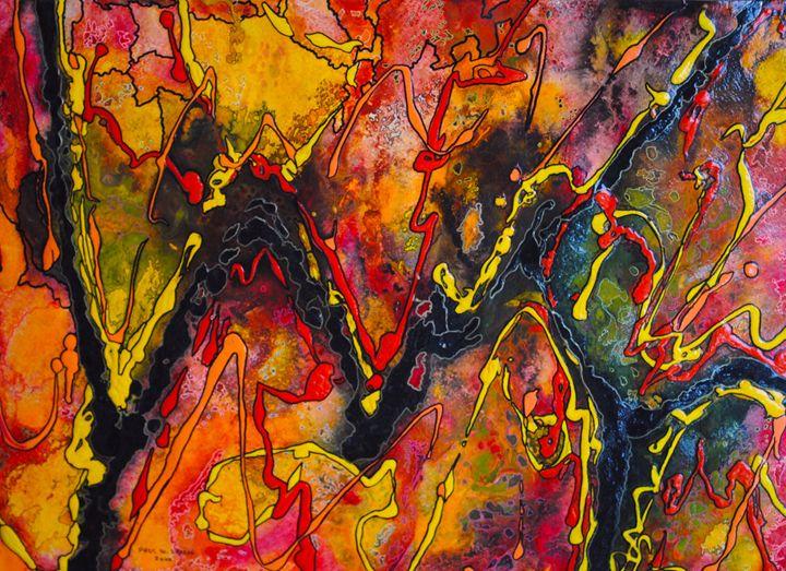 The Cycle - Paul Larson's Artwork