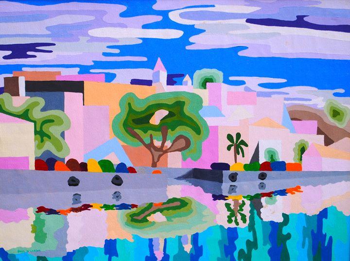 Hamilton, Bermuda - Paul Larson's Artwork