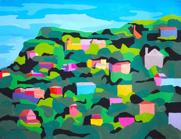 Sausalito - Paul Larson's Artwork