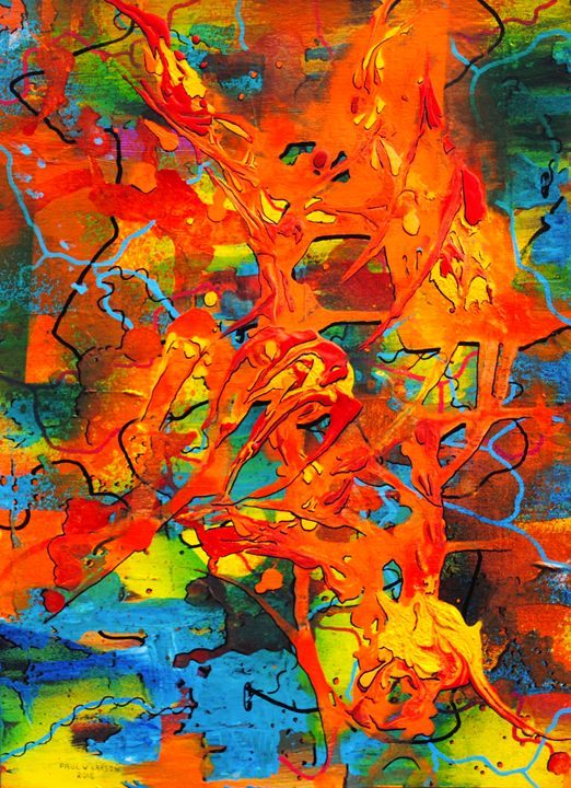 Wind and Flame - Paul Larson's Artwork