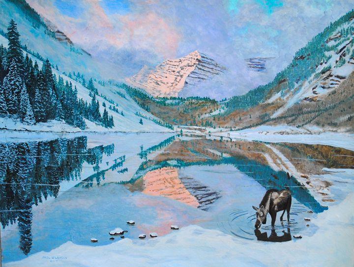 Maroon Bells - Paul Larson's Artwork