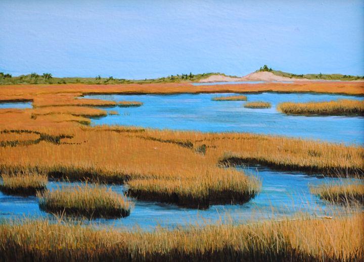 Ellisville Marsh - Paul Larson's Artwork