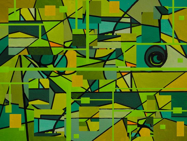It's not easy being green - Paul Larson's Artwork