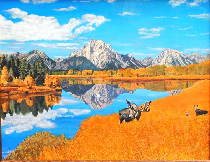 Oxbow Bend - Paul Larson's Artwork