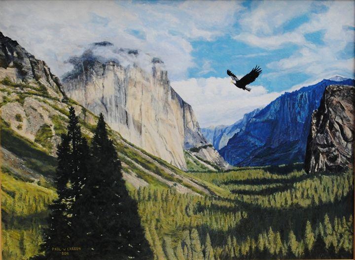 Yosemite Valley - Paul Larson's Artwork