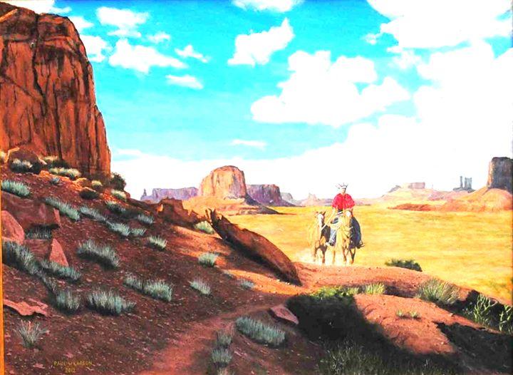 Monument Valley - Paul Larson's Artwork
