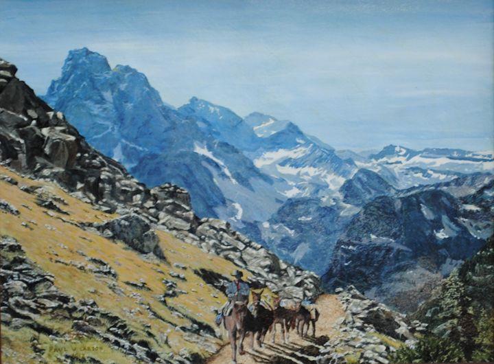 Crossing the Summit - Paul Larson's Artwork