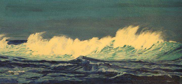 Just a Wave - Paul Larson's Artwork