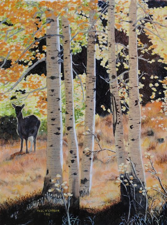 Autumn Aspens - Paul Larson's Artwork