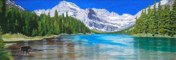 Josephine Lake - Paul Larson's Artwork