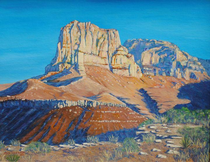 El Capitan at the Guadalupe Peaks - Paul Larson's Artwork