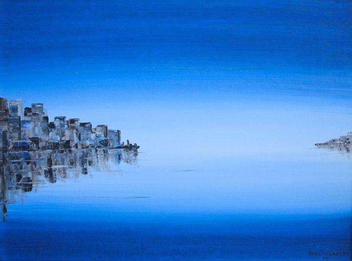 A quiet dawn in the city - Paul Larson's Artwork