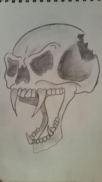 Skull - Paintings