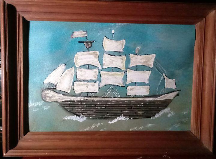 SailboSail Boat #3 - Dawn Rettew