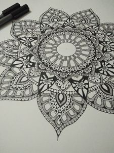 Madala Crystal Zentangle love