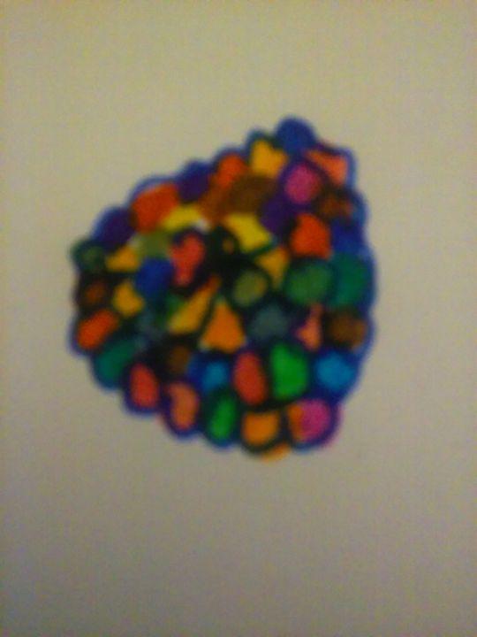 colorful ballons - jims art