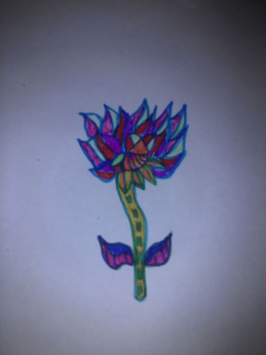 pretty flower. - jims art