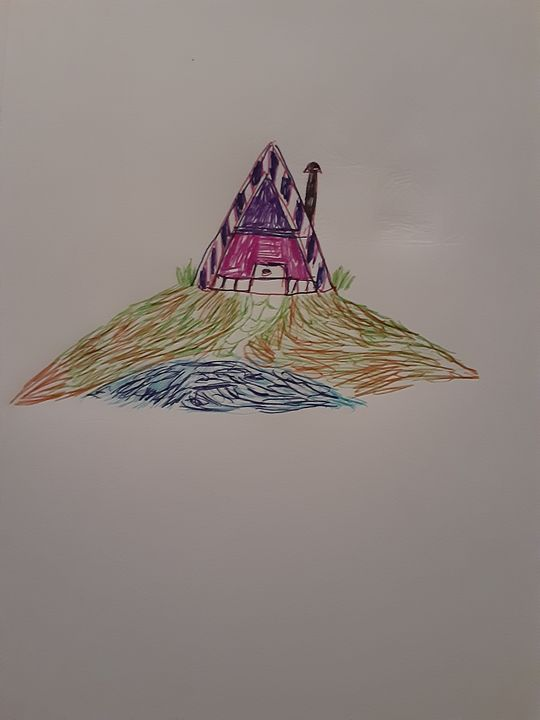 Crazy cabin - jims art