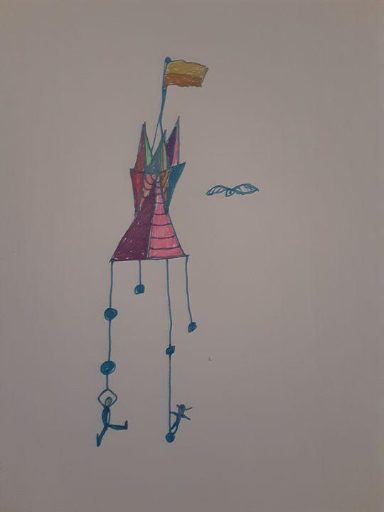 Hanging on - jims art