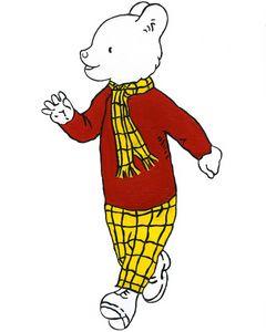Rupert Bear - Liv Bogen Prints