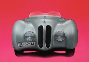 BMW 328 Mille Miglia 'Büegelfalte' - Paintings by Krzysztof Tanajewski