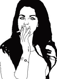 Lana Del Rey Outline